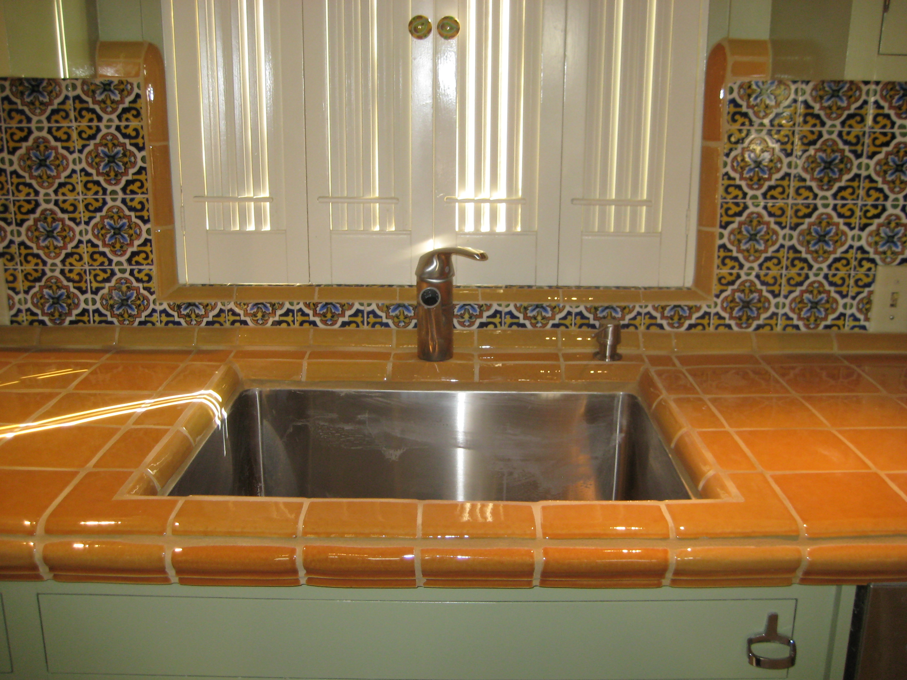 Kitchens With Saltillo Tile Floors Kitchen Archives Saltillo Tile Blog