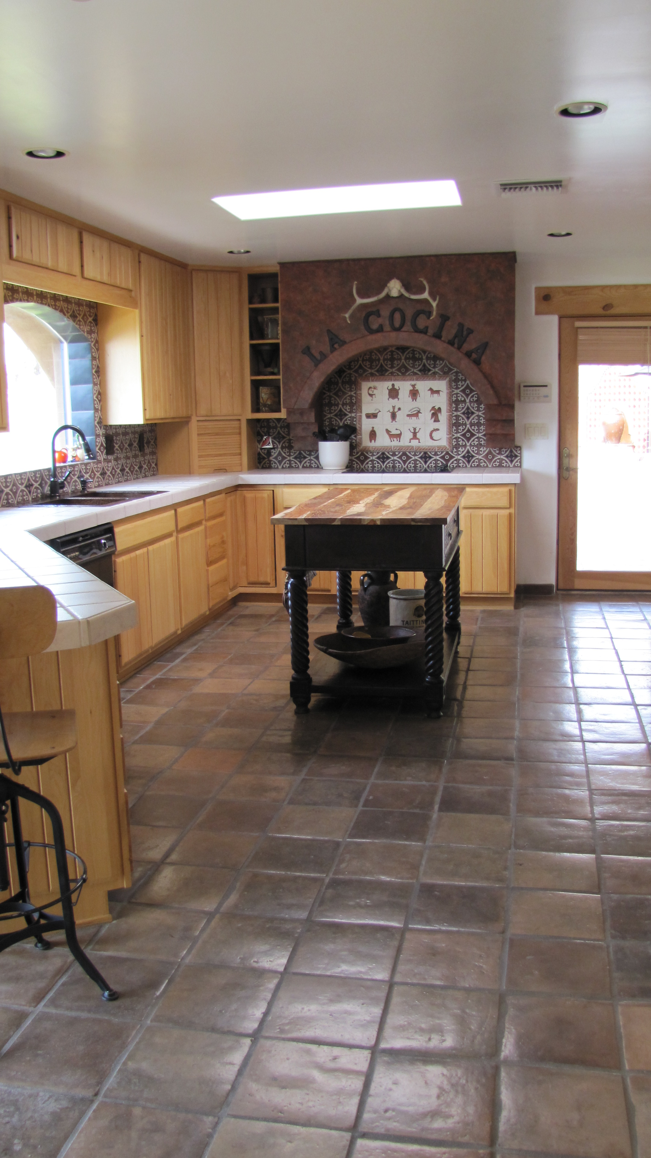 Kitchens With Saltillo Tile Floors Tile Archives Saltillo Tile Blog