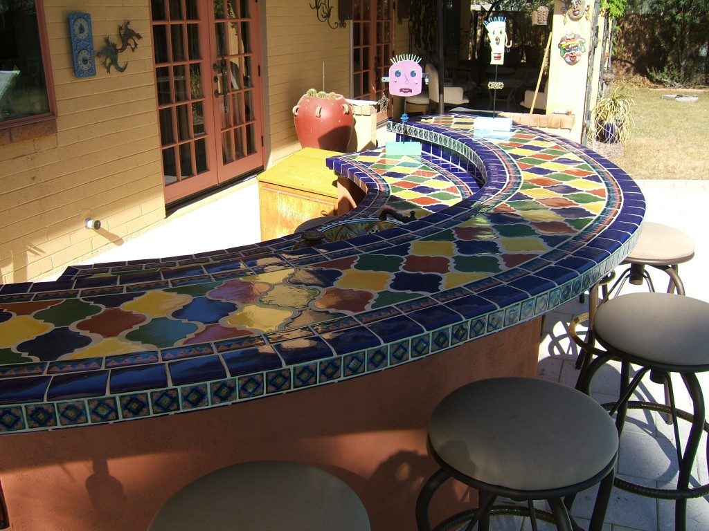 Outdoor Patio And Pool Tile Designs