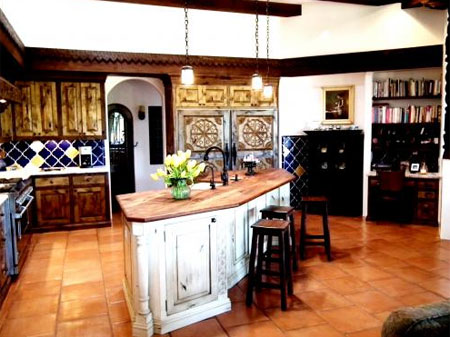 kitchens with saltillo tile floors designing with saltillo tile saltillo tile 8800